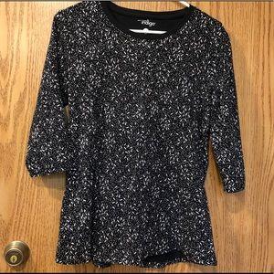 🔴 Great Northwest Indigo Blouse Shirt Top M EUC